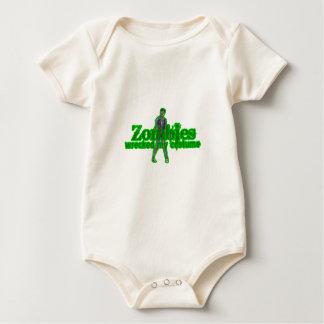 Zombies Wrecked My Costume - Halloween Baby Bodysuits