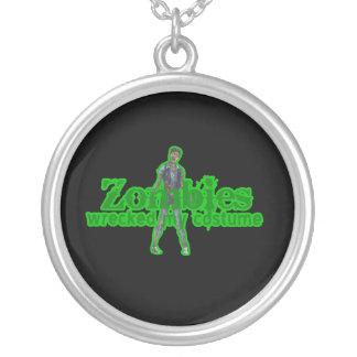 Zombies Wrecked My Costume - Halloween Jewelry