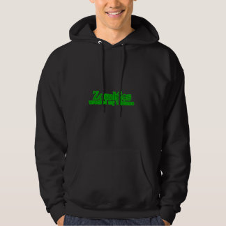 Zombies Wrecked My Costume Text Halloween Hooded Pullovers