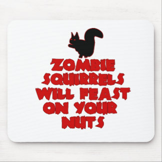 ZombieSquirrelpng Mouse Pad