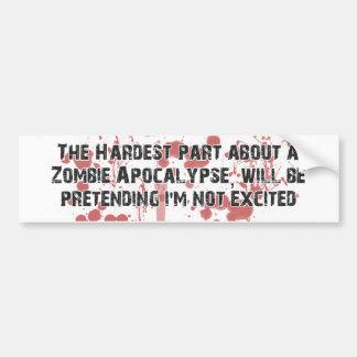 ZombieVerse Bumper Sticker