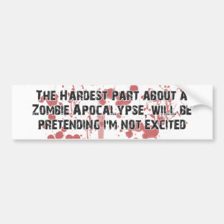 ZombieVerse Etiqueta De Parachoque