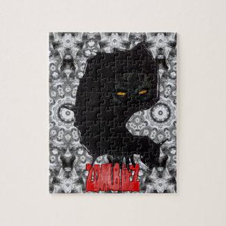 ZombieZ breaking through vector art Jigsaw Puzzles