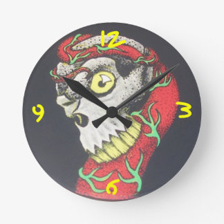 ZombieZ Dark Seed 2 Wall Clock