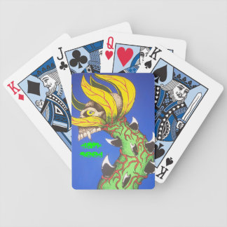 ZombieZ Dark Seed PLAYING CARDS