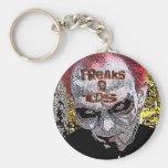 ZombieZ FREAKS R US KEYCHAIN