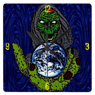 ZombieZ Go Green Wall Clock