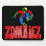 ZombieZ INLINER AGRESIVO MOUSEPAD Tapetes De Ratones