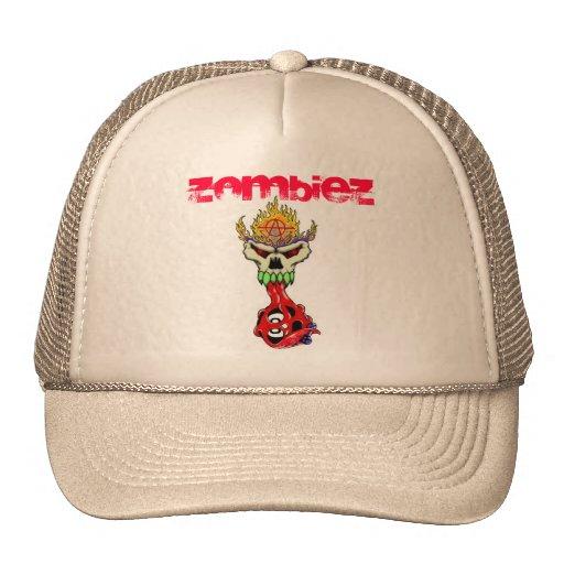 , ZombieZ Twisted 8Ball Truckers Cap Trucker Hat