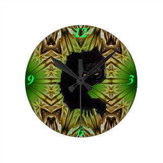 ZombieZ Vector Art Wall Clock