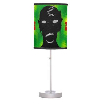 ZombieZ Zombie and Cracked Emerlad Desk Lamp