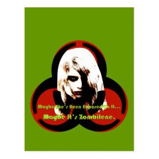 Zombilene of The Living Dead Postcard