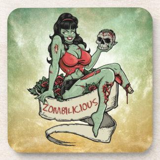 Zombilicious Zombie Girl Coaster