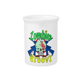 Zombis 70s maravilloso jarras para bebida