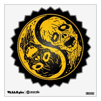 Zombis amarillo y negro de Yin Yang