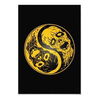 Zombis amarillo y negro de Yin Yang Anuncio
