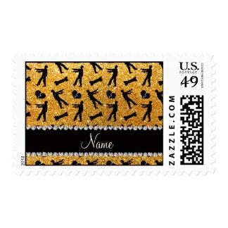 Zombis amarillos conocidos de encargo del brillo sello