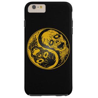 Zombis amarillos y negros de Yin Yang Funda De iPhone 6 Plus Tough