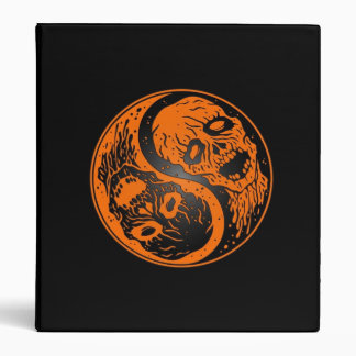 Zombis anaranjados y negros de Yin Yang