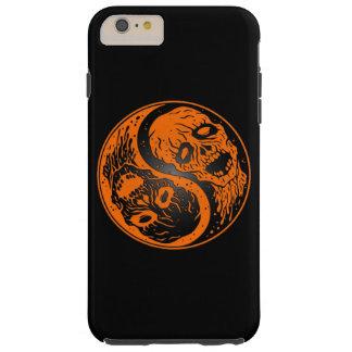 Zombis anaranjados y negros de Yin Yang Funda De iPhone 6 Plus Tough