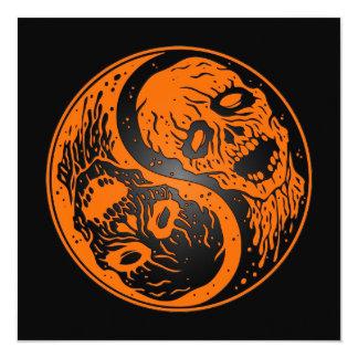 Zombis anaranjados y negros de Yin Yang Comunicados