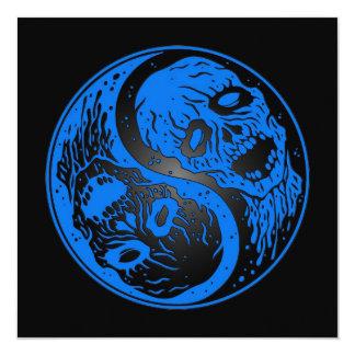 Zombis azules y negros de Yin Yang Comunicados