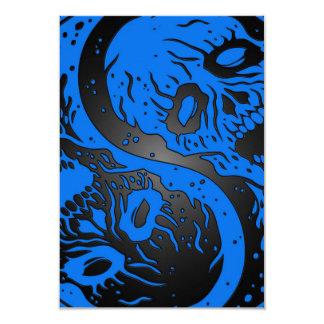 Zombis azules y negros de Yin Yang Comunicado Personal