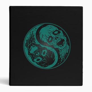 Zombis azules y negros del trullo de Yin Yang