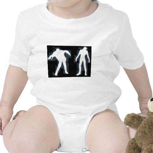 Zombis blancos trajes de bebé