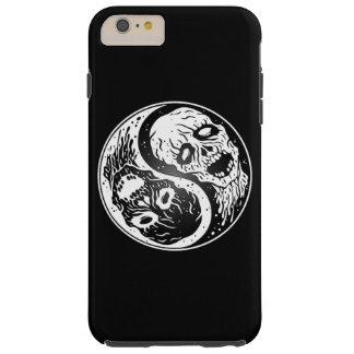 Zombis blancos y negros de Yin Yang Funda De iPhone 6 Plus Tough