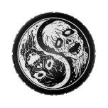 Zombis blancos y negros de Yin Yang Frascos De Dulces