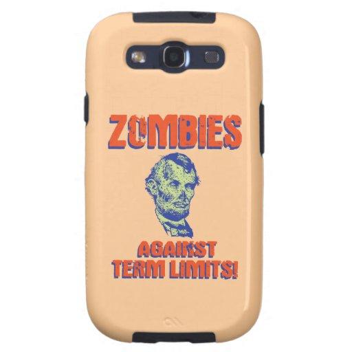 ¡Zombis contra límites de mandato! Samsung Galaxy SIII Funda