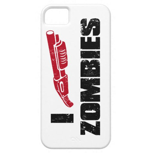 zombis de la escopeta i iPhone 5 Case-Mate carcasas