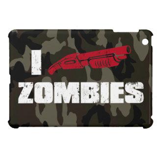 zombis de la escopeta i iPad mini fundas
