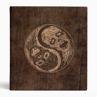 Zombis de Yin Yang con el efecto de madera del