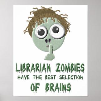 Zombis del bibliotecario - poster