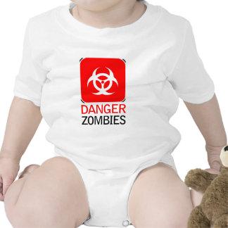 Zombis del peligro traje de bebé