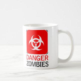 Zombis del peligro tazas