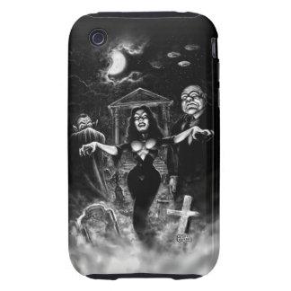 Zombis del plan 9 de Vampira iPhone 3 Tough Funda