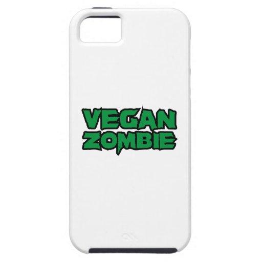 Zombis del vegano iPhone 5 Case-Mate fundas