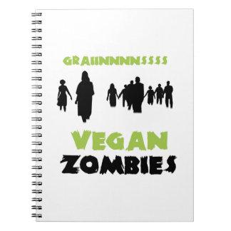 Zombis del vegano libros de apuntes