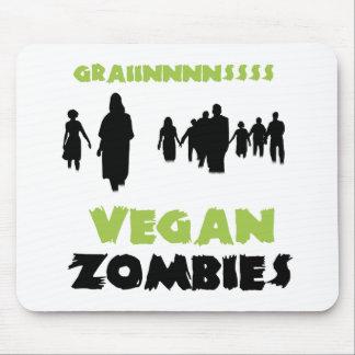 Zombis del vegano tapetes de ratón
