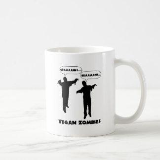 Zombis del vegano taza de café