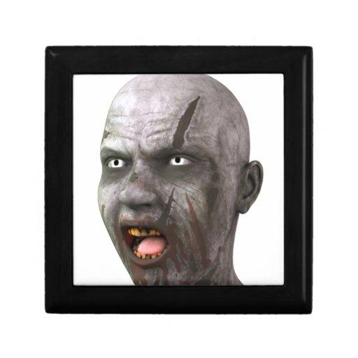 Zombis del zombi caja de recuerdo