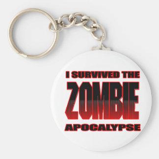 zombis divertidos de los undead de la camisa del llavero redondo tipo pin