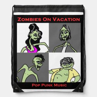 Zombis el vacaciones - cuatro caras mochilas