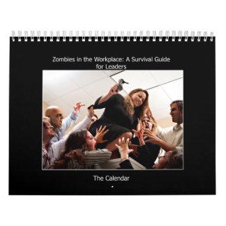 Zombis en el lugar de trabajo Calendar.jpg Calendario