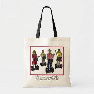Zombis en Segways bolso de compras Bolsas De Mano
