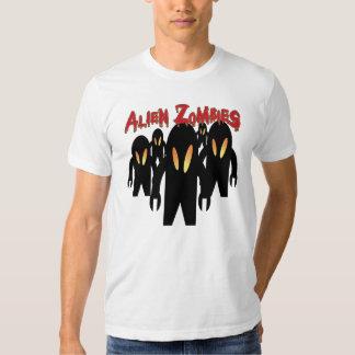 Zombis extranjeros su camisa