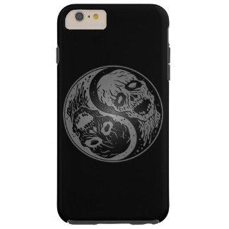 Zombis grises y negros de Yin Yang Funda De iPhone 6 Plus Tough